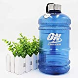 Optimum Nutrition Water Bottles with Stainless Steel Cover Large Capacity Handle Portable Water