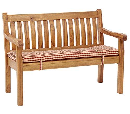 Dehner Gartenbank Ives, 4-Sitzer, ca. 180 x 67 x 89 cm, FSC Akazienholz, geölt, natur