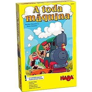 HABA- Juego de Mesa, ¡A Toda Máquina (Habermass H304341)