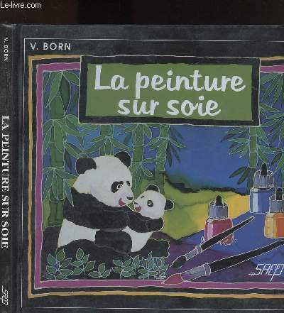 Peinture sur soie par V. (Vibeke) Born (Cartonné)