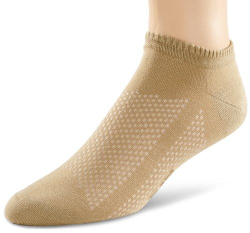 Preisvergleich Produktbild ELBEO Herren Sneakersocke 935956 / Bamboo Breathable Sneaker M, Gr. 43-46 (II), Beige (leinen 9960)