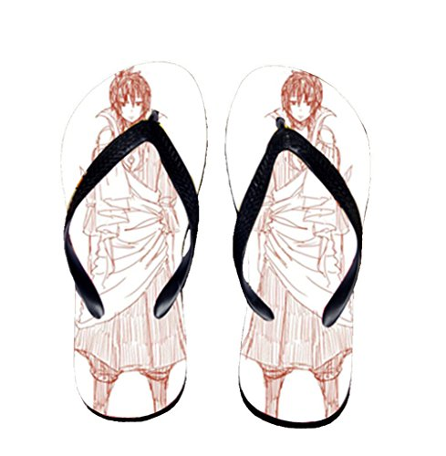 Bromeo Fairy Tail Anime Unisex Flip Flops Zehentrenner Flip Pantoffeln 2