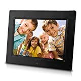 Sungale CD802 8-Inch Digital Photo Frame (Black)
