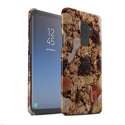 Kleie-müsli (Stuff4® Matte Snap-On Hülle/Case für Samsung Galaxy S9 Plus/G965 / Tropischen Müsli Muster/Getreide Kollektion)
