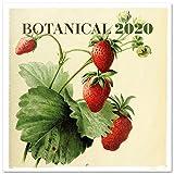 Erik 2020 Wall Calendar for Home or Office, 30 x 30 cm - Botanical