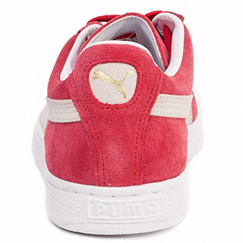 Puma Classic Hommes Trainers Red White