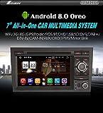 "Autoradio Erisin ES7528A 7"" Radio Android 8.0 Autoradio GPS Bluetooth SD per AUDI A4 S4 RS4 B9 B7"