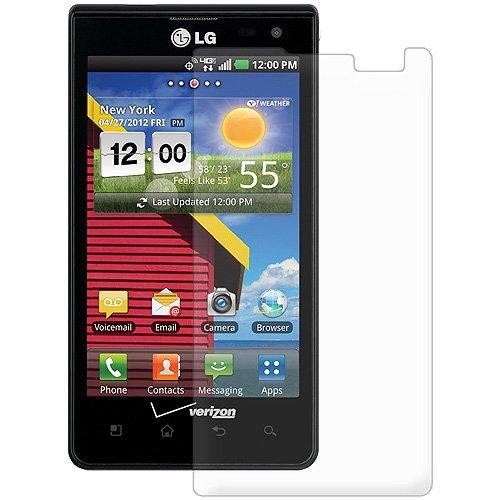 Amzer AMZ93684 Displayschutzfolie mit Blendschutz für LG Lucid 4G VS840 und Verizon LG Lucid 4G VS840, transparent, 1 Packung