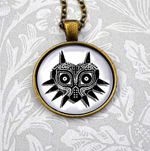 Beautiful Dandelion Schöne Löwenzahn Maske Graphic Halskette -