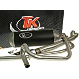 Tubo de escape TURBO-KIT de 2-in-1-Hyosung GT125 X-Road
