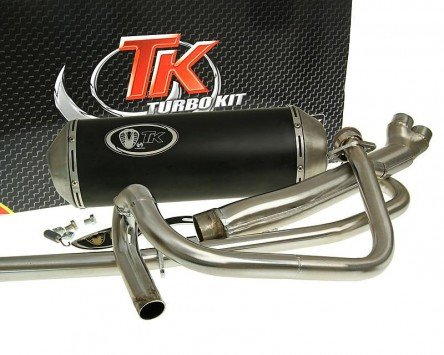 Auspuff TURBO KIT 2-in-1 X-Road - HYOSUNG GT 125 N (Naked)