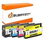 Bubprint 4 Druckerpatronen kompatibel für HP 953XL für OfficeJet Pro 7740 WF 8200 Series 8210 8216 8218 8710 8715 8718 8719 8720 8725 8730 8740