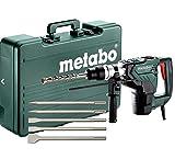 Metabo Kombihammer Set, 1100 Watt mit 5-teiligem Meißelsatz