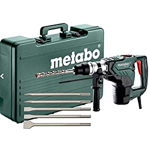 Metabo Martillo combinado Set, 1100W, con 5accesorios de cinceles