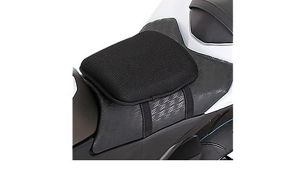 Gel Coussin de Selle M pour Honda Deauville NT 700//650 V Noir