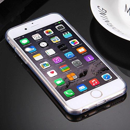 iPhone Case Cover Pour iPhone 6 & 6s Embossment yeux modèle Soft TPU étui de protection ( Color : Black ) Red