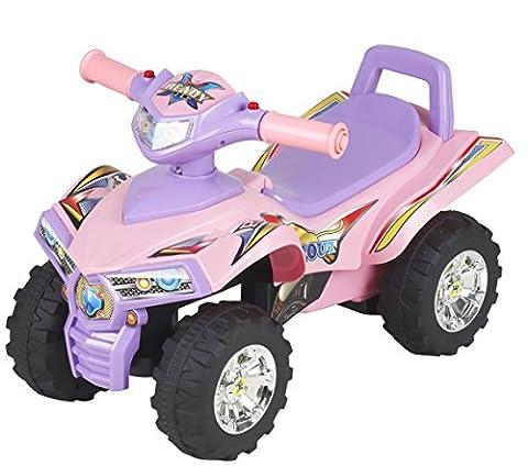 Chipolino CHIPROCAT1401PI - Quad Kinderauto Ride On, rosa