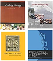 NCERT textbook Sociology for - Introducing sociology class- XI, Indian society class-12, Social Change and Dev