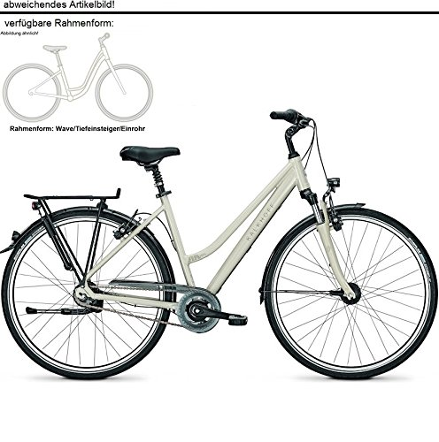 KALKHOFF AGATTU 8 CITY BIKE 2017  COLOR BEIGE WAVE  TAMAÑO 28 WAVE 45CM  TAMAÑO DE RUEDA 28 00 INCHES