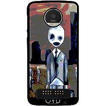 Funda para Lenovo (Motorola) Moto Z Play - Gente Espeluznante by hera56