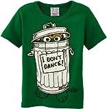 Logoshirt Sesame St. - Oscar - I Don't Dance Kurzarm Jungen T-Shirt,Grün - Vert (Green), 15-16 Jahre (Herstellergröße:170/176)
