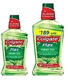 #6: Colgate Plax Mouthwash - 250 ml (Fresh Tea) with Plax Mouthwash - 500 ml (Fresh Tea)