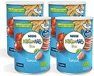 Naturnes Bio Nutripops Tomaat 10+ Maanden Baby Tussendoortje - 4 Hersluitbare Blikjes - babyvoeding