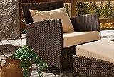 Destiny Sessel PANAMA Sofasessel Bronze Loungesessel Polyrattan Gartensessel