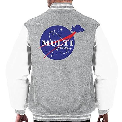 Rick And Morty NASA Multiverse Men's Varsity Jacket