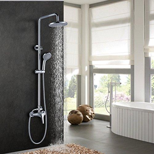 ZYJYdie dusche chrome um spray - kalt wasser mischen ventil regen wc dusche anzug (Durchlauferhitzer Wc Ventil)