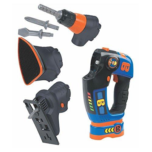 Bob der Baumeister - Werkzeug-Set 3-teilig - Schleifer Akkuschrauber Stichsäge