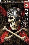 Educa Borras 17964 500 Totenkopf Eines Piraten Puzzle, Multicolor