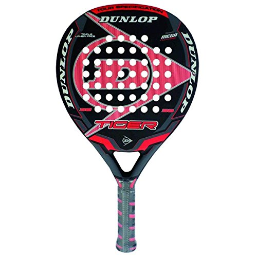 Dunlop-Tiger-Pala-de-pdel-color-rojo-38-mm