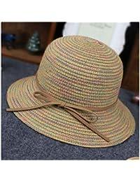 Amazon.es  sombrero paja niño - 4108423031   Niñas de hasta 24 meses ... b3eb9e40156