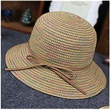 Sombrero de sol para bebé niños lazo Protección Solar Sombrero Niños Playa  Sombrero breitkrempigen sombrero de 1f3650681f9