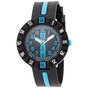 Flik Flak Jungen Analog Quarz Uhr mit Gummi Armband FCSP031
