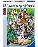 Ravensburger - 19117 - Puzzle - La Famille Tigre - 1000 pièces