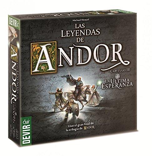 Devir Iberia - Las leyendas de Andor, la última esperanza (225723)