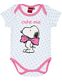 Snoopy Babies Girls Baby body - white
