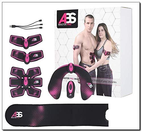 ABS Elektrostimulation Muskel Trainer Set Hüfttrainer Bauchtrainer | Muskelstimulator für Bauch & Po | Bauchmuskeltrainer (HIP Trainer)
