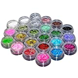 TOPBeauty 24 Loose GLITTER Eyeshadow Eye shadow Face Body Painting