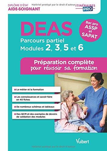 DEAS - Parcours partiel - Modules 2, 3, 5 et 6 - P...