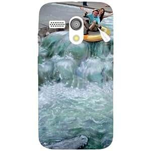 Printland Waterflow Phone Cover For Motorola Moto G