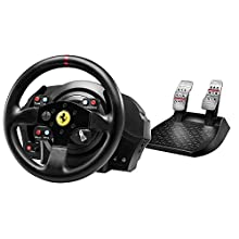 Thrustmaster T300 Ferrari GTE Wheel (Lenkrad inkl. 2-Pedalset, Force Feedback, 270° - 1080°, Eco-System, PS4 / PS3 / PC)