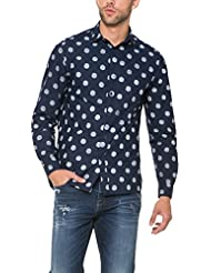 Desigual Gérard - Chemise casual - Taille normale - Manches longues - Homme