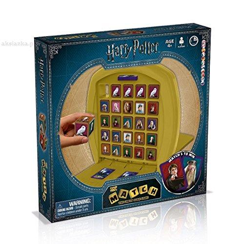 MATCH Harry Potter - das strategische Würfelspiel mit den Zauberschülern aus Hogwarts - Harry, Hermine Granger, Ron Weasley  | Gesellschaftsspiel | Familienspiel | Reisespiel |
