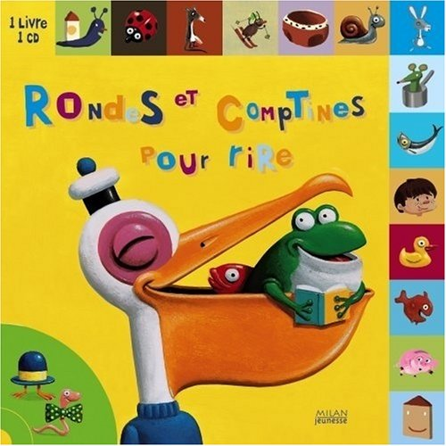 Rondes et comptines pour rire (1CD audio) par Christian Guibbaud