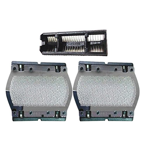 Zhhlaixing 2x Rasierapparat Rasierer Foil & Rasierapparat Rasierer Köpfe Fitting Alternative Gute Leistung für Brau Series 110 120 130 140 140S 150 150S-1 5682 140S (Series 120)