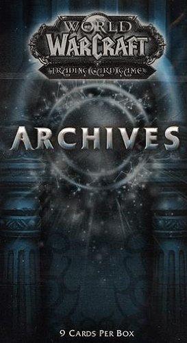 World of Warcraft Archives Booster englisch (Die begehrtesten Beutekarten! u.a. kann der Spektraltiger enthalten sein)