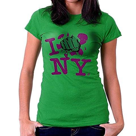 I Smash NY Hulk Women